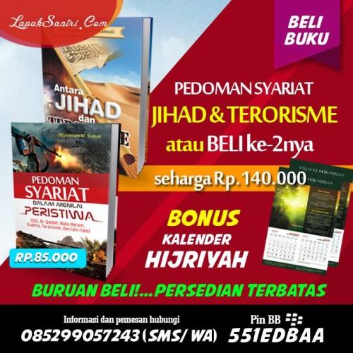 Buku Pedoman Syariat atau Antara Jihad bonus Kalender
